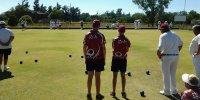 Playing at Christiana Lawn Bowling Club